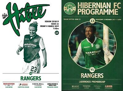 Hibernian v Rangers - Ladbrokes Scottish Premiership - 08 March 2019 - Inc Bonus