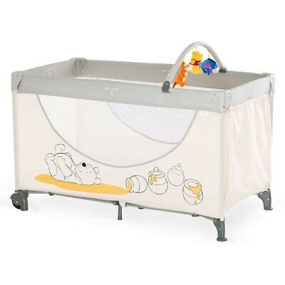 New Hauck Disney Winnie The Pooh Cuddles Dream N Play Go Travel Cot Playpen