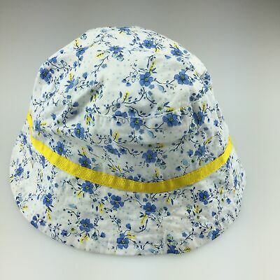 Girls size 00, Catriona Rowntree, pretty floral cotton bucket hat, EUC
