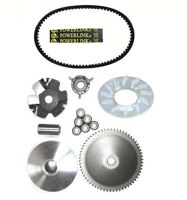 Tao Tao CY50A VIP 50cc Scooter Front Clutch Variator and Powerlink Drive Belt
