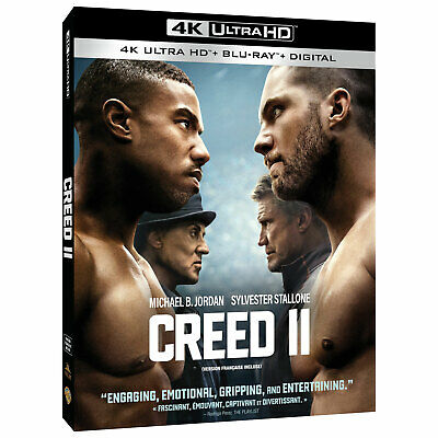Creed 2 (4K Ultra HD) + Blu-Ray + Digital Code NEW and Brand New