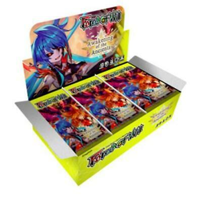 Awakening Of The Ancients Force of Will TCG Valhalla Booster Box (36 packs)