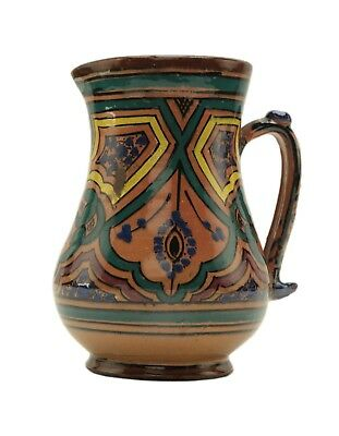 Moroccan Pottery Pitcher