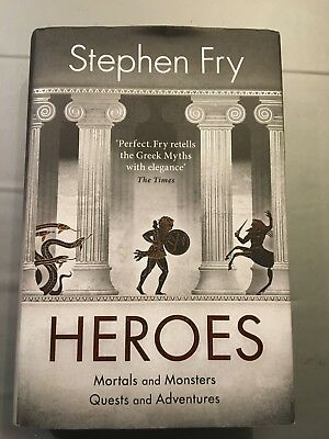 HEROES by STEPHEN FRY 2018 1st EDITION HARDBACK VERY GOOD CONDITION