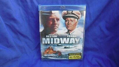 Midway [Blu-ray]  BRAND NEW & factory sealed!!!