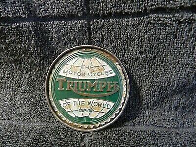 belt buckle triumph (the motorcycles of the world-coventry )