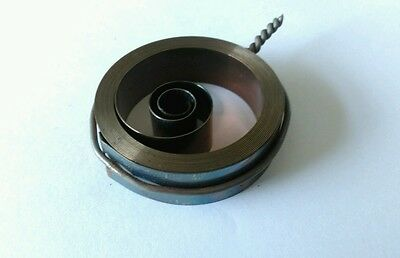 French & German Hole End Clock Mainspring Height 14 mm Diameter 50mm Force 0.37