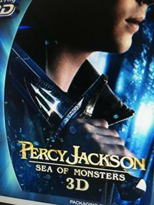 3D Percy Jackson Sea Of Monsters - 3D Blu Ray Disc Only *please Read Description