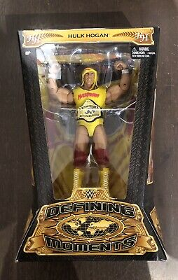 WWE Elite Collection Defining Moments Hulk Hogan Figure Action- & Spielfiguren