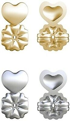 BRAND NEW 4Pcs Magic Earring Back Lifter Support Lift Hypoallergenic Sliver Gold