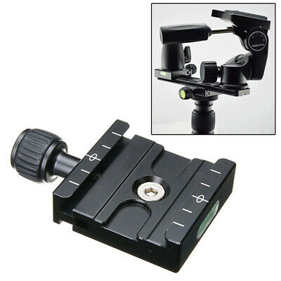 QR-50 Quick Release Plate Clamp For Arca SWISS RRS Manfrotto Tripod Ball Head