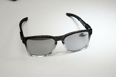 f5f6c73ac45 Authentic Oakley CATALYST DARK INK FADE Chrome Iridium Sunglasses OO9272-18