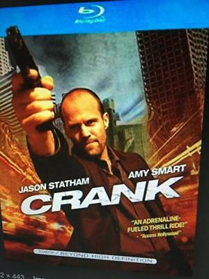 CRANK - JASON STATHAM -  Used BLU-RAY Disc ONLY * PLEASE READ DESCRIPTION