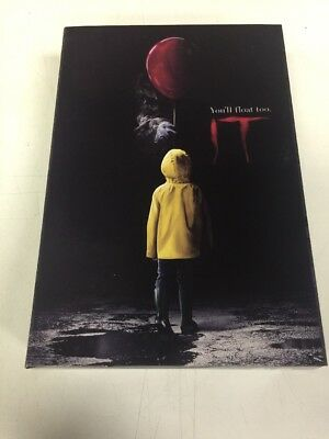 """ULTIMATE PENNYWISE IT 2017 Movie 7"""" inch Scale Action Figure Neca 2018"""