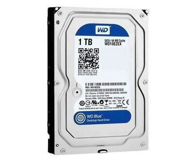 "HP WD Blue 1TB SATA-6Gb 7200rpm 64MB 3.5"" Internal Hard Drive WD10EZEX"