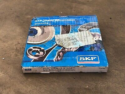 (147) SKF PHC08B-1 x 10ft BS Roller chain