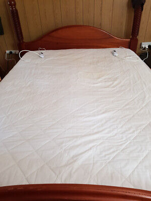 Premium Fitted Quilted Electric Blanket - Queen bed
