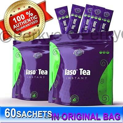 ❤️❤️ IASO INSTANT TEA 60 INDIVIDUAL SACHETS - Total Life Changes (TLC) EXP.02/21