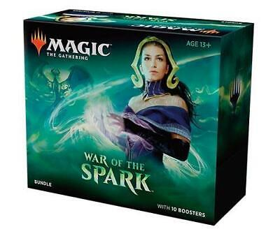 MTG Magic the Gathering War of The Spark Bundle 10 Boosters
