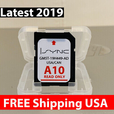FORD LINCOLN LATEST Navigation Sd Card Gps A10 Map 2019 2018