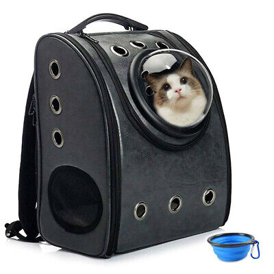 Aukor Cat Backpack Carriers, Cat Dog Bubble Backpack