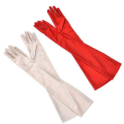Women Drive Summer Cool Fingerless Long Gloves Arm Sun-Proof Arms Protector