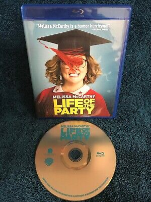 Life of the Party Blu-Ray Bluray Disc Only No DVD FREE Shipping Melissa McCarthy