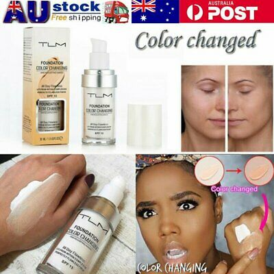 TLM Flawless Color Changing Foundation Makeup Base Face Liquid Magic Flawles  VW