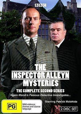 The Inspector Alleyn Mysteries: Series 2 DVD 2009 2-Disc Set Brand New & Sealed