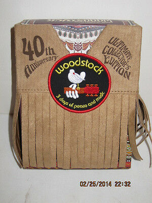 40Th Anniversary Of Woodstock - Ultimate  Edition-Low Sn, Free-Pri Shipping-Nib!