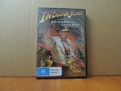 Indiana Jones And The Raiders Of The Lost Ark (DVD, 2008) brand new and sealed