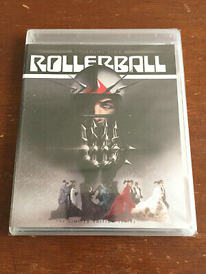 ROLLERBALL (Blu-Ray) Twilight Time, James Caan, Norman Jewison - BRAND NEW!