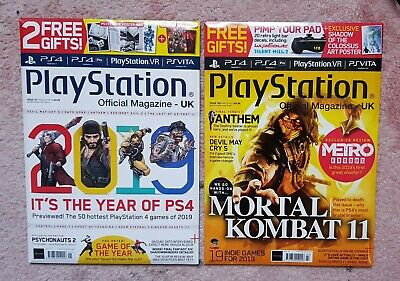 Official UK PlayStation Magazine, Issue no. 159  & 157  brand new sealed