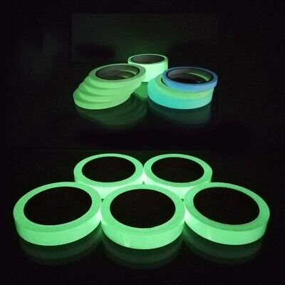 Luminous Glow In The Dark Sight Tape Reflective  Self-adhesive Strip Color Tape