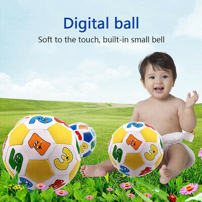 Children's Educational Toys Rubber Ball Toy Baby Learning Color Letter Ball Toy