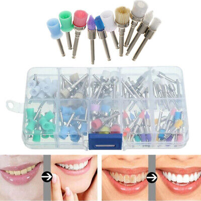 Tooth Brush 100 Pcs Dental Polishing Prophy Brush Dentist Dental Material
