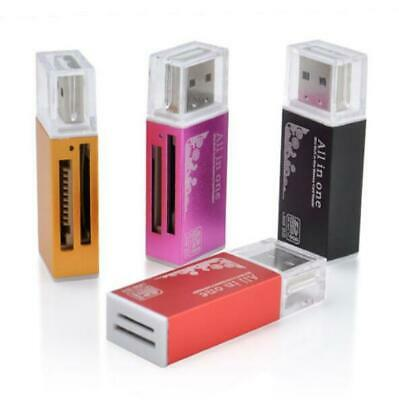 Multi TF/M2/MMC USB 2.0 SDHC All in 1 Micro SD Memory Card Reader MS PRO DUO