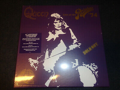 QUEEN Live at the Rainbow 4x 180g LP LIMITED DELUXE EDITION BOXED SET-NEW-M9-FLG