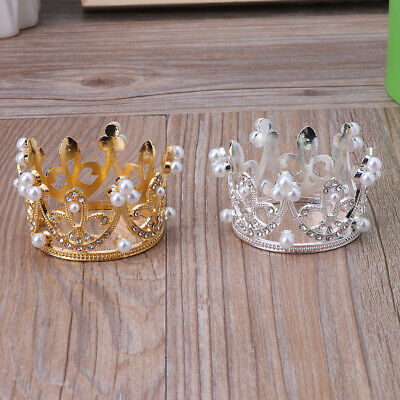 Newborn Boys Girls Photography Gold Crown Props Little Baby Photo shooting Props