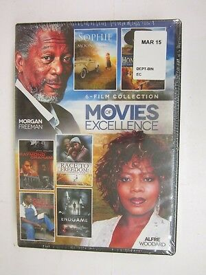 Movies of Excellence: 6 Film Collection, Vol. 4 (DVD, 2015, 2-Disc Set) BRAND NE