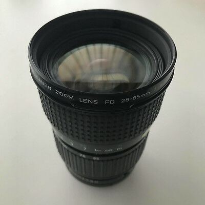 CANON FD 28-85mm f4 MACRO Lens + Filter 'EXCELLENT'