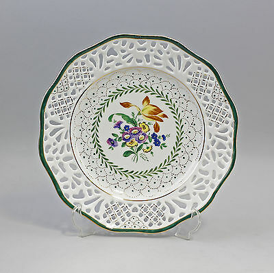 Breakthrough plate with Floral decoration 9987186