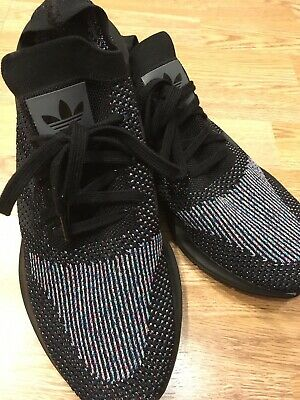 a94d430fb ADIDAS ORIGINALS SWIFT Run Primeknit PK Multi-Color Black Men Size ...