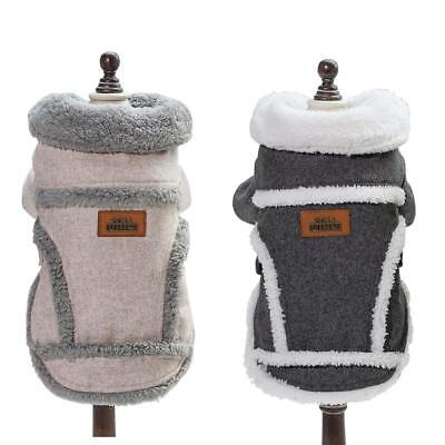 Pet Clothes Cotton Warm Winter Jacket Soft Outfit Clothing Dogs Puppy Apparel