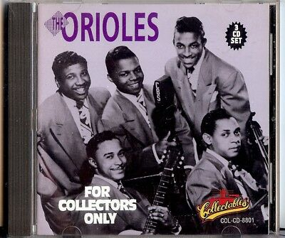 THE ORIOLES - FOR COLLECTORS only CD.3        CD 1992  COLLECTABLES