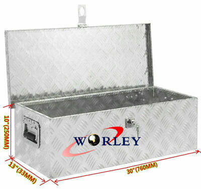 "Aluminum BR302S 30/"" Tool Box Truck Pickup RV Trailer Storage 30 x 13 x 13"