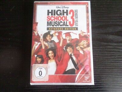 High School Musical 3: Senior Year (Extended Edition) German Import In English