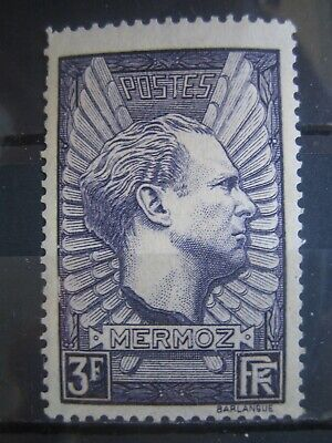 Timbres France-N° 338  Neuf** Sans Trace De Charniere