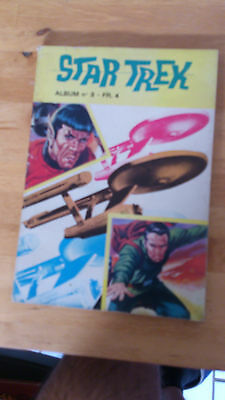 Star Trek Album N° 3/ 4 - 5 - 6 + N° 21 Magnus An 4000.