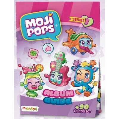 MOJIPOPS. Starter Pack.( Pack inicial de lanzamiento ) Serie 1